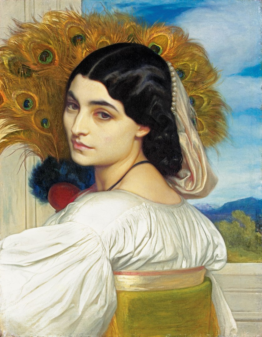 Pavonia by Lord Frederick Leighton