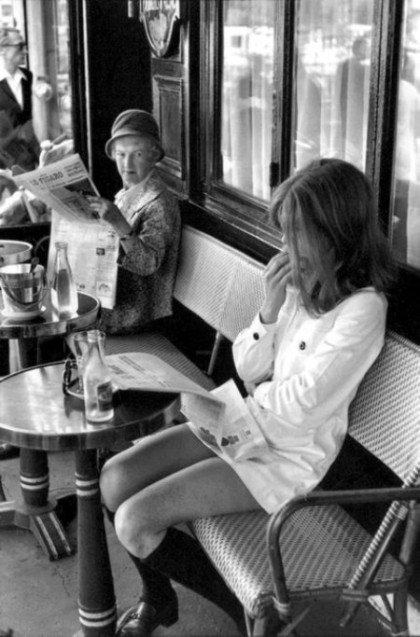 Brasserie Lipp. 1969.