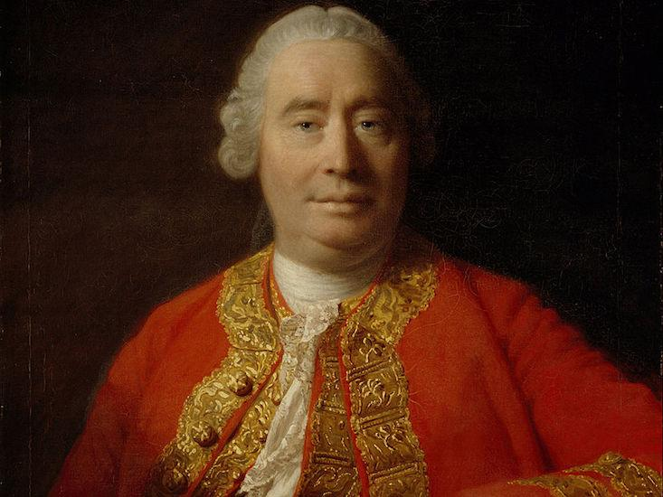 A portrait of David Hume, by Allan Ramsay (1766)