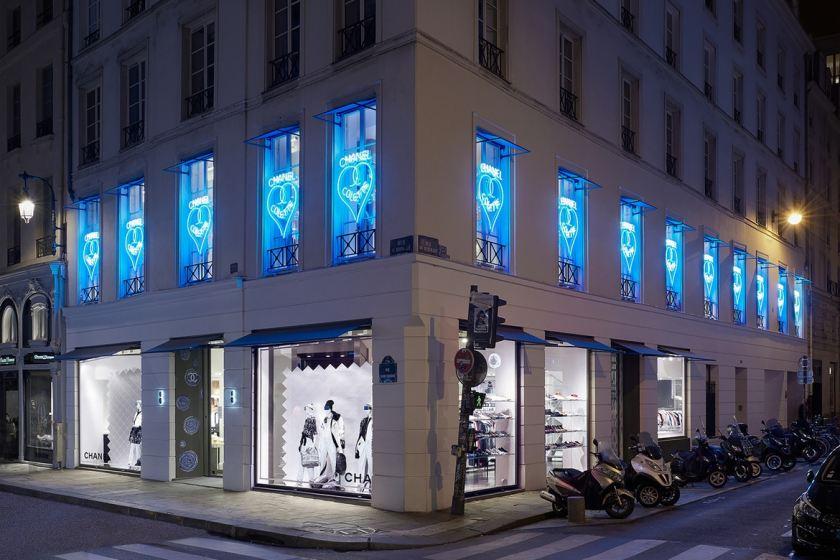 Paris cody delistraty for Chanel locations in paris